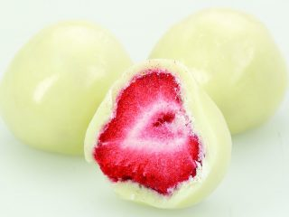 White Chocolate Freeze Dried Strawberry