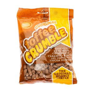 ChocNibbles-Original Toffee Crumble 215g Pack