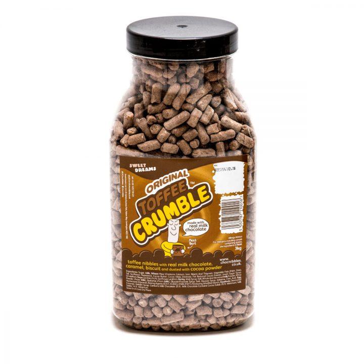 Toffee Crumble – 2.7 KG Jar